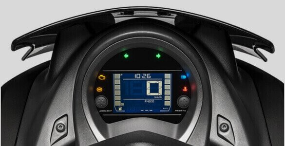 New Inverted LCD Digital Speedometer NMax