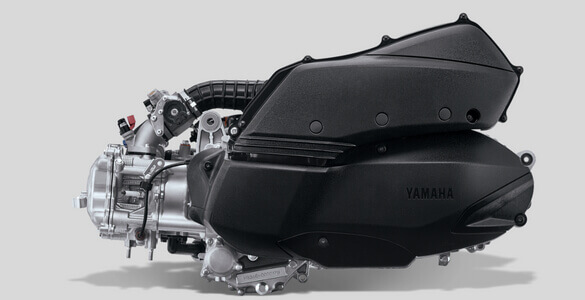 Powerful 250 CC Blue Core Engine XMax