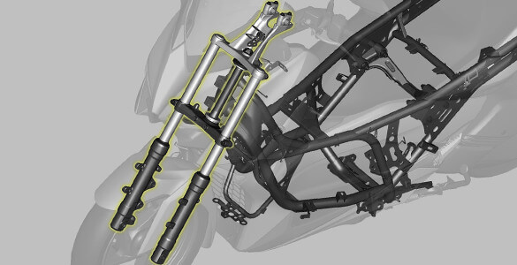 Sport Motorcycle Type Front Suspension XMax