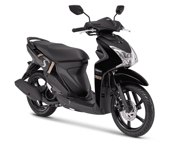Yamaha Mio S Mighty Black